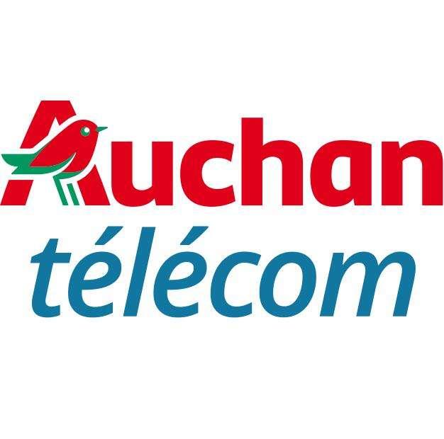 [Nouveaux Clients] Forfait Mobile Auchan Télécom - Appels/SMS/MMS illimités + 50Go de DATA & 5Go EU/DOM - pendant 12 mois (Sans engagement)