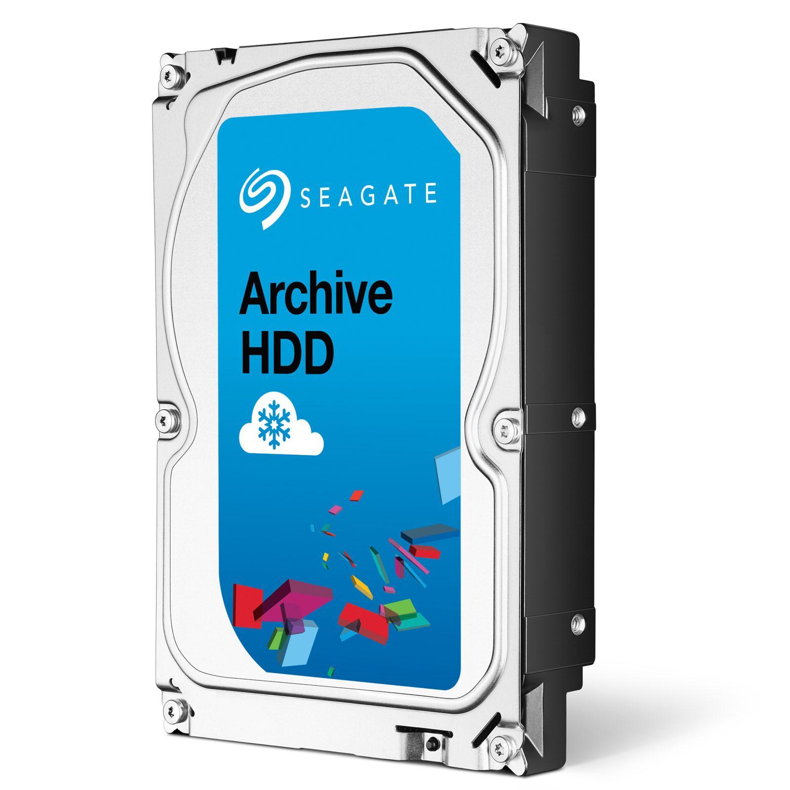"""Disque dur 3.5"""" Seagate Archive (5900 tpm, cache 128Mo) - 8 To"""