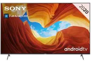 """TV 75"""" Sony KE75XH9096BAEP - 4K UHD, 100 Hz, HDR10, Android TV (Frontaliers Belgique)"""