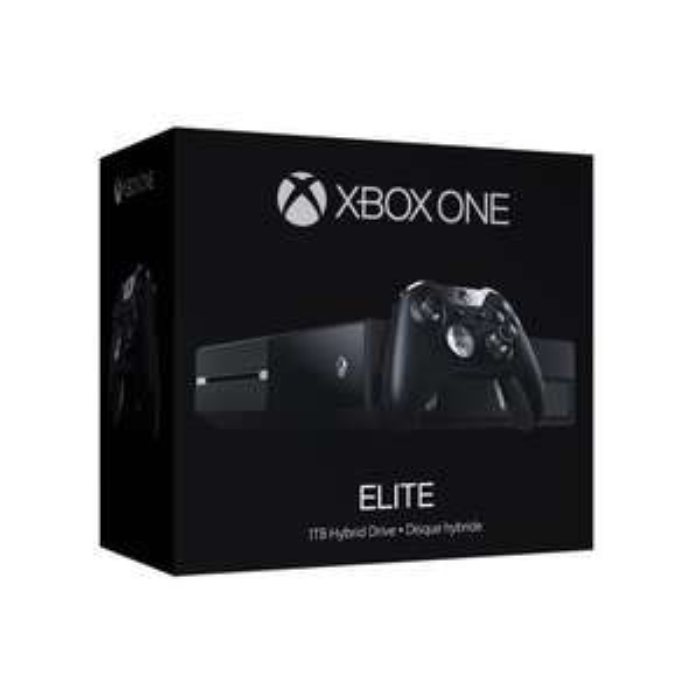 Console Xbox One Elite - 1 To, Noir
