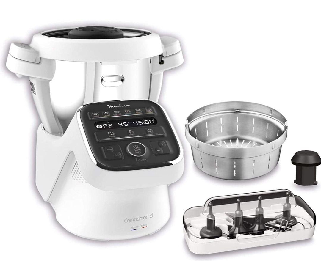 Robot cuiseur multifonction Moulinex Companion XL HF80CB10 - 4.5 L, 1550 W (Via coupon)