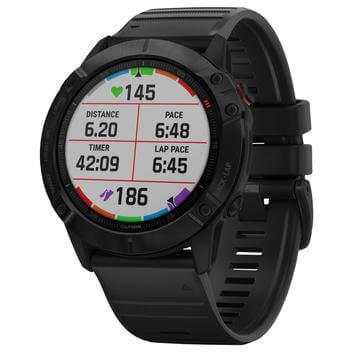 Montre GPS connectée Garmin Fenix 6X PRO black (Frontaliers Suisse)