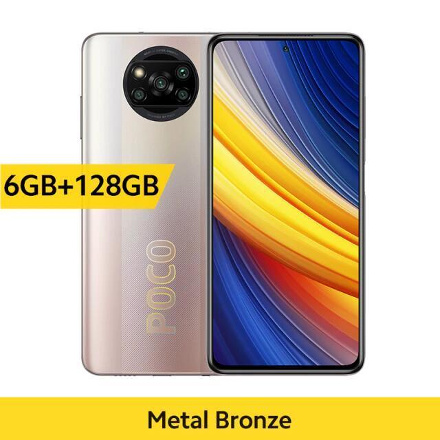 "Smartphone 6,67"" Xiaomi Poco X3 Pro - 6 Go RAM, 128 Go ROM, NFC, Bronze (182.25€ Via Code FRMAY013)"