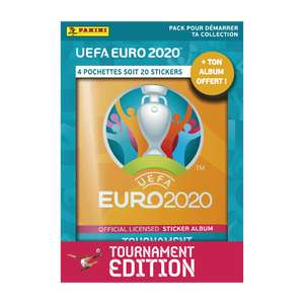 Album Panini Euro 2021+ 4 pochettes