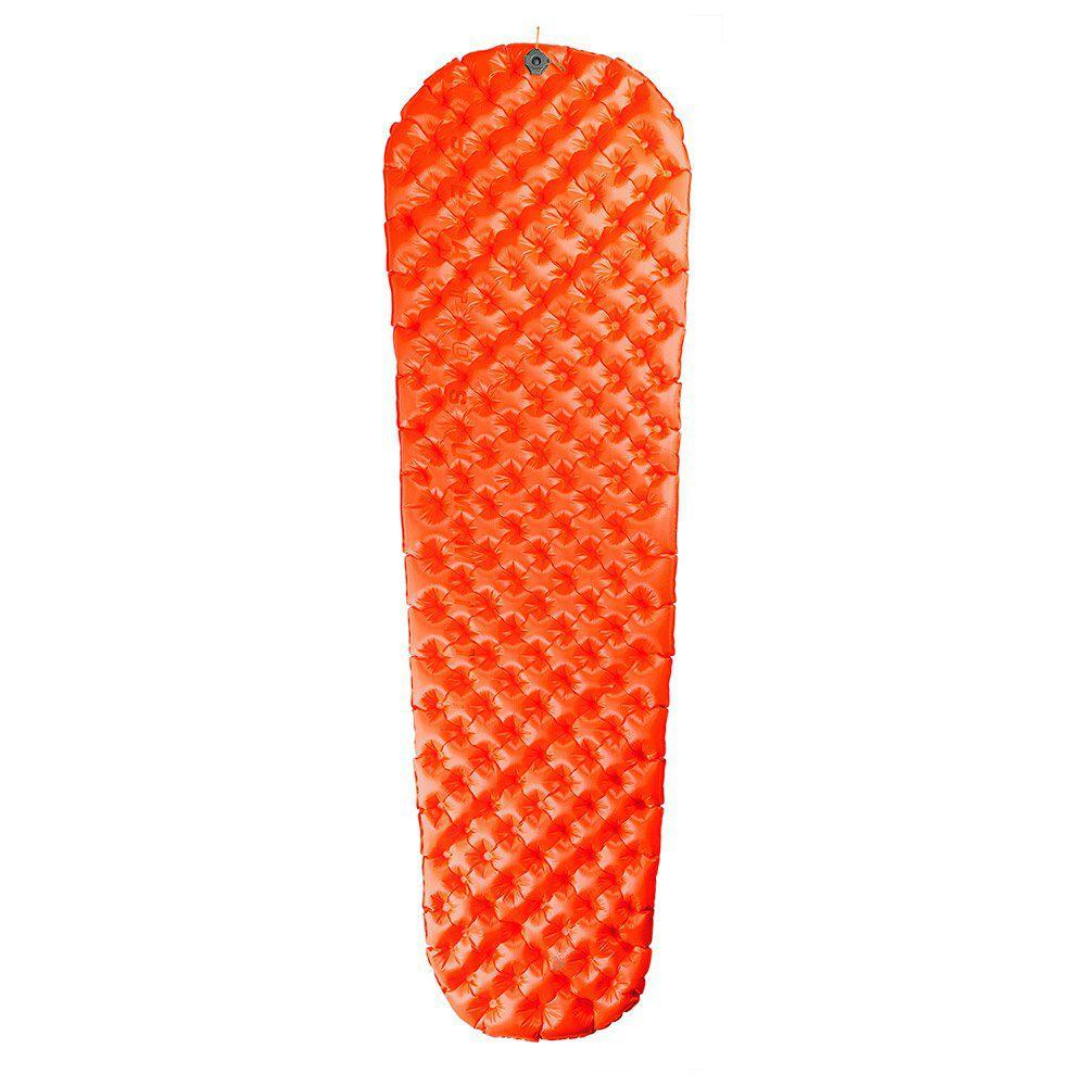 Tapis de sol Sea To Summit UltraLight Insulated - 183 x 55 cm, Orange