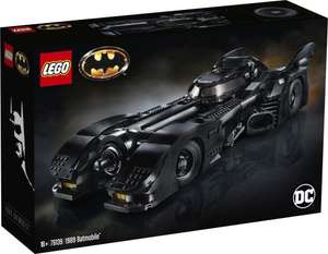 Jeu de construction Lego DC Super Heroes (76139) - 1989 Batmobile