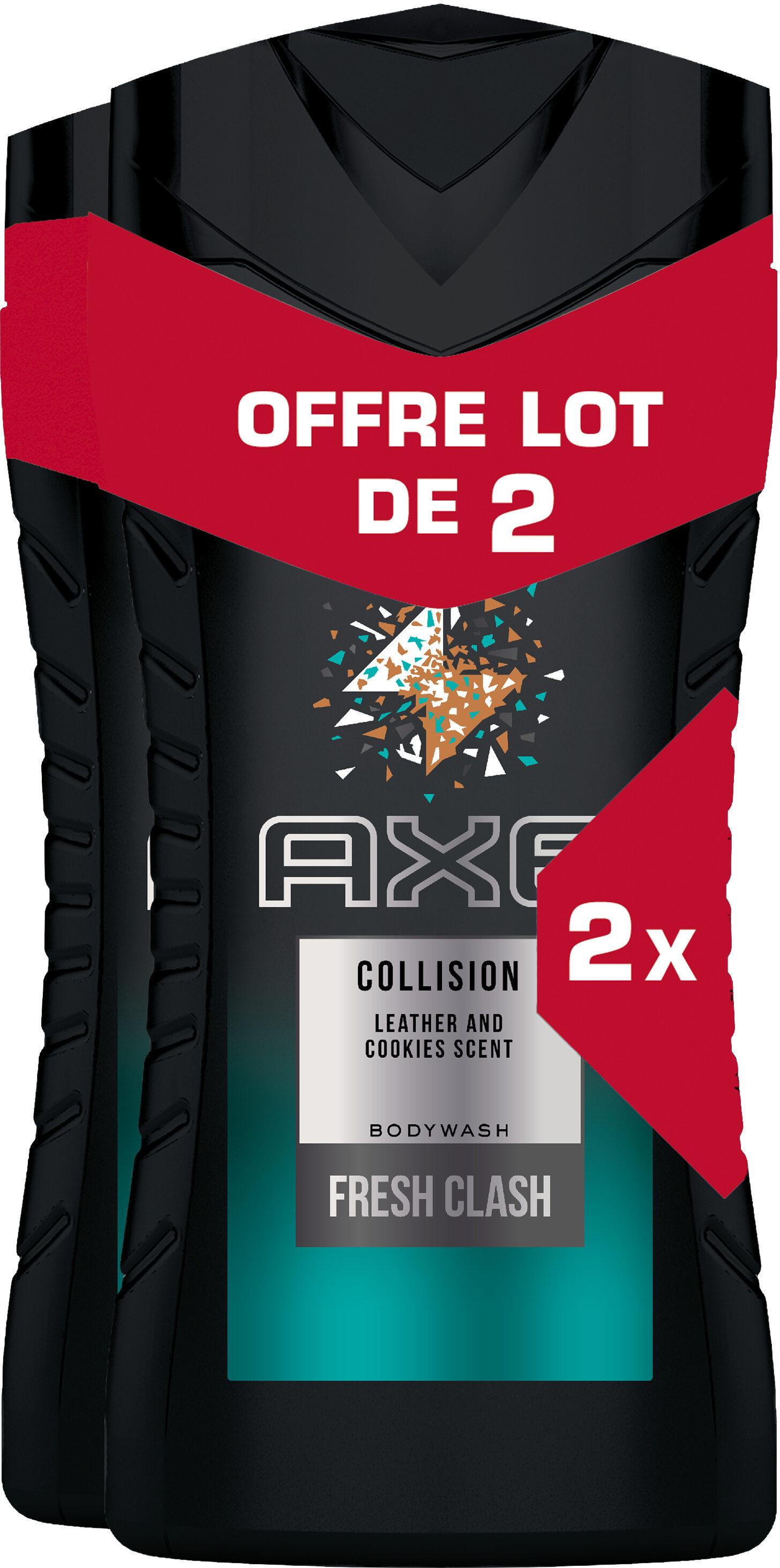 Sélection de produits d'hygiène en promotion - Ex : Lot de 2 Gels douche Axe (via 3.06€ sur la carte de fidélité)