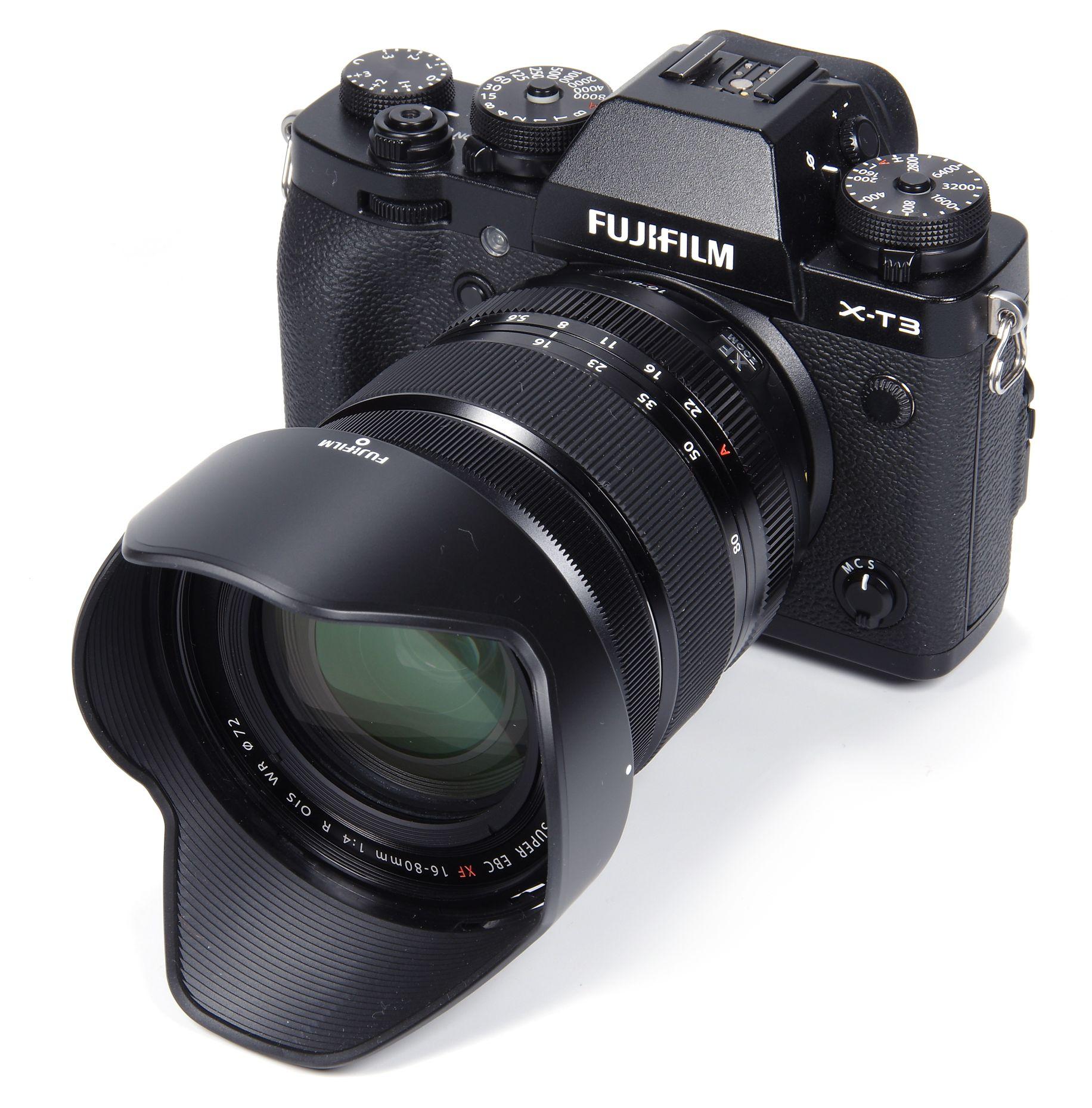 Appareil Photo hybride Fujifilm X-T4 Noir + Objectif XF 16-80mm F4 R OIS WR