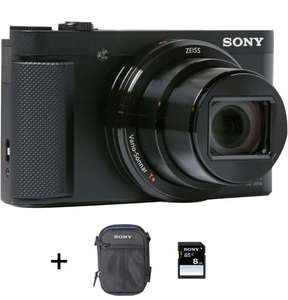 Appareil photo Compact Sony DSC-HX80 + Etui + Carte SD 8 Go