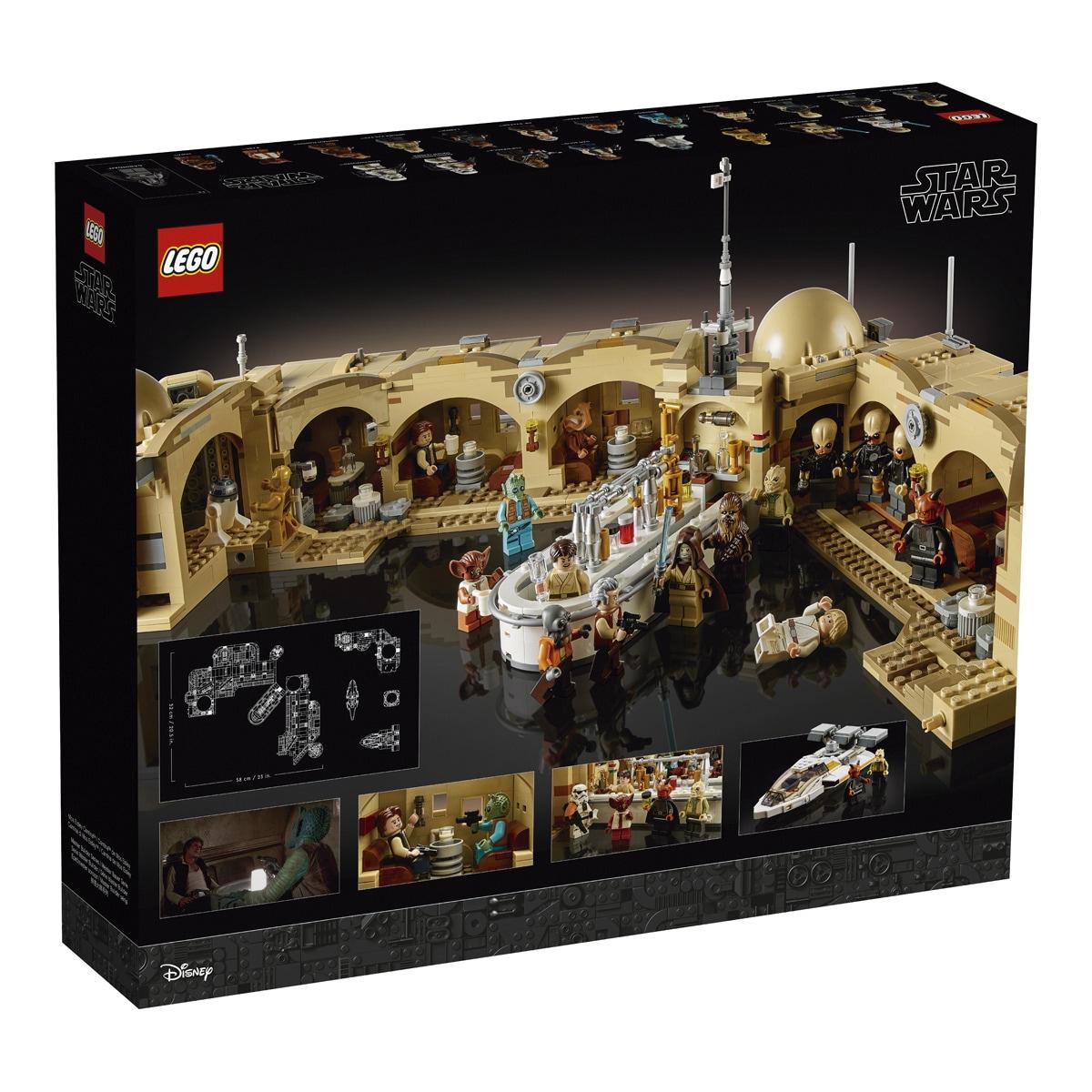 Jouet Lego Star Wars (75290) - La Cantine de Mos Eisley