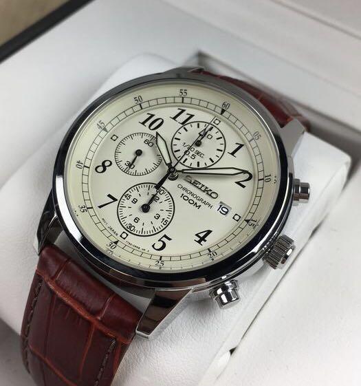 Montre chronographe à quartz Seiko SNDC31 - 40mm (taxes et frais de livraison inclus)