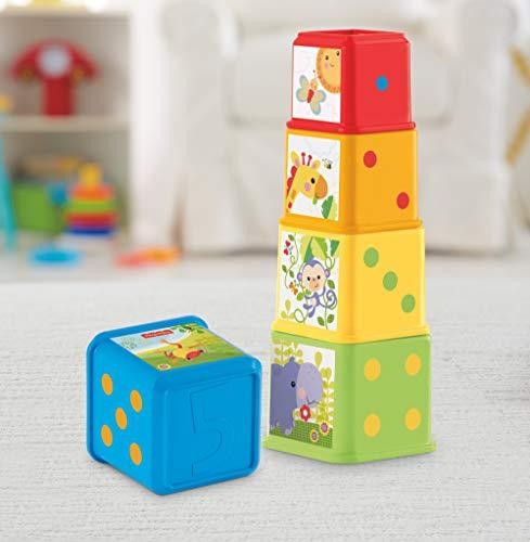 Cubes découvertes à empiler et à emboîter Fisher Price CDC52