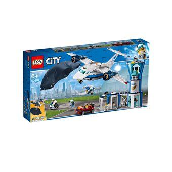 Jouet Lego City La base aérienne de la police (60210)