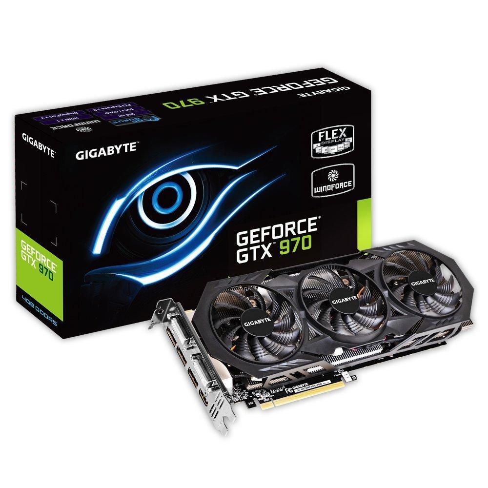Sélection de cartes graphiques GTX 970 en promotion - Ex : Gigabyte GeForce GTX 970 OC WindForce III 4 Go + Tom Clancy's The Division offert