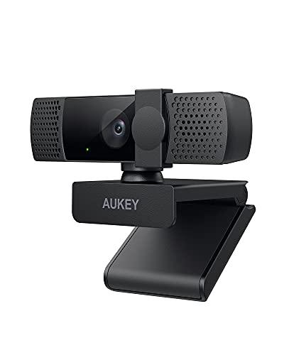 Webcam Aukey PC-LM7 - 1080p (Via coupon - Vendeur tiers)