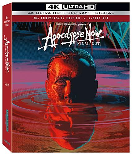 Blu-ray 4K UHD : Apocalypse Now Final Cut - 40th Anniversary 6 Disc Edition (VOSTFR, Frais d'importation inclus)
