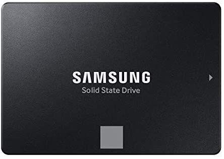 """SSD interne 2.5"""" Samsung 870 Evo - 1 To (+ Jusqu'à 23.50€ en Rakuten Points)"""