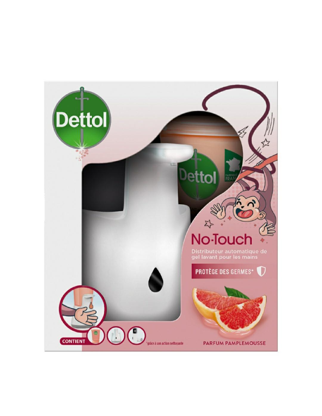 Distributeur automatique de gel lavant pour mains Dettol No-Touch (Magasins Participants)
