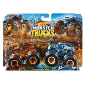 Jouet Hot Wheels Monster Trucks - 2 Véhicules