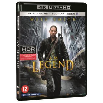 Blu-ray 4K UHD : Je suis une légende