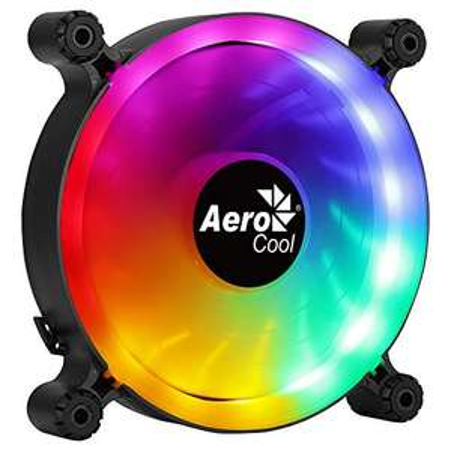 Ventilateur PC AeroCool Spectro12 - 120mm, RGB, Silencieux