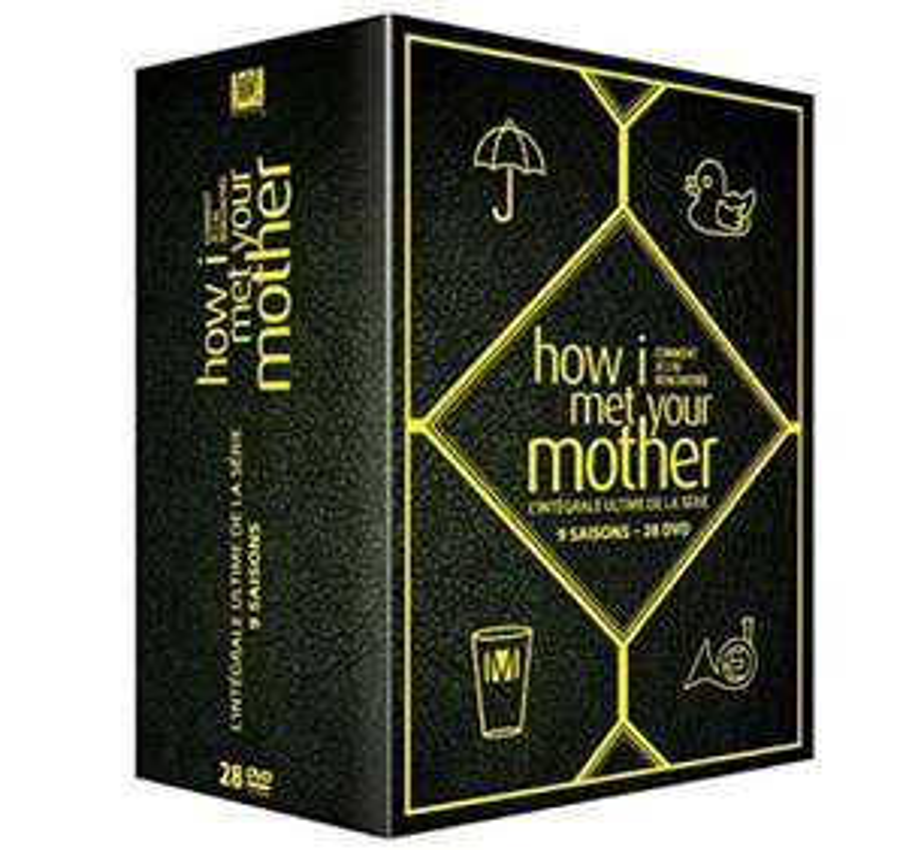 Coffret DVD : How I Met Your Mother : L'intégrale ultime de la serie - 9 Saisons - Édition Limitée