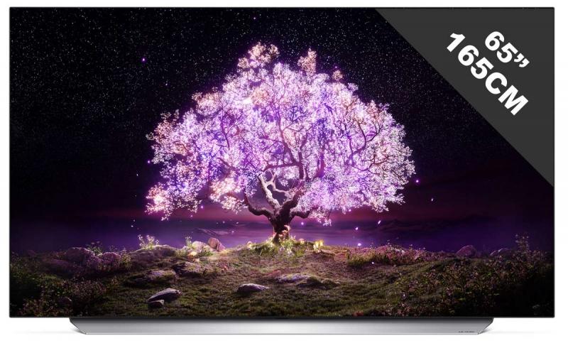 """TV 65"""" LG OLED65C1 - 4K UHD, 100 Hz, HDR10 / HLG, Dolby Vision IQ"""