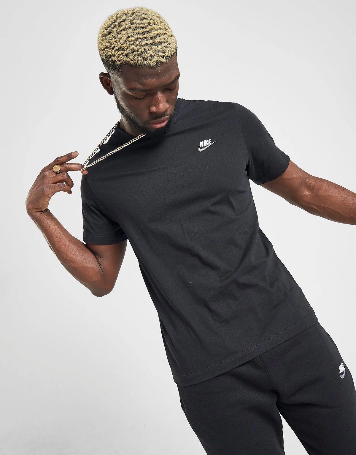 [Étudiants] T-shirt homme Nike noir - Taille S à XL