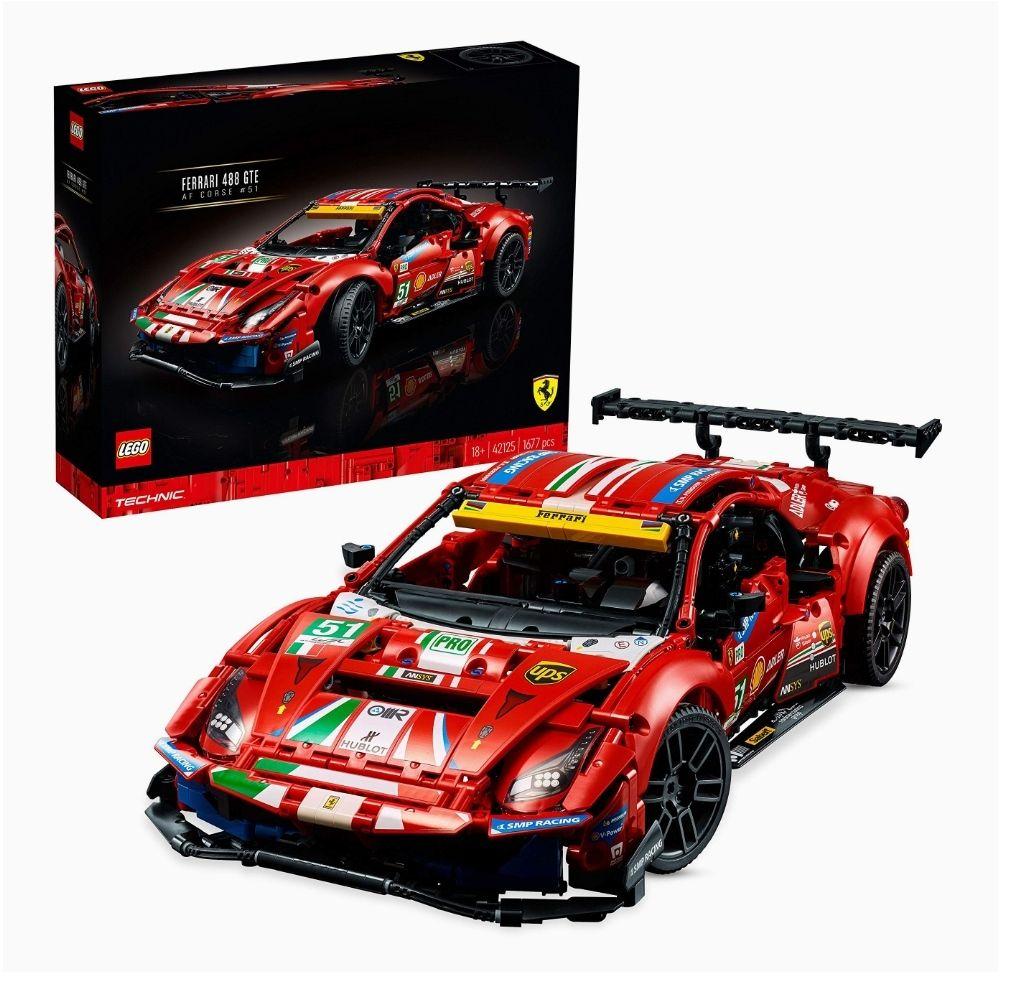 "Jeu de construction Lego Technic 42125 - Ferrari 488 GTE ""AF Corse #51"""