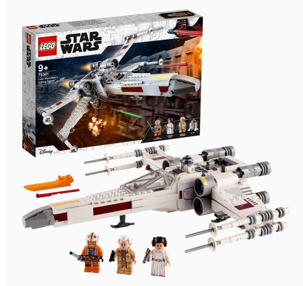 Jeu de construction Lego Star Wars - Le X-Wing Fighter de Luke n°75301