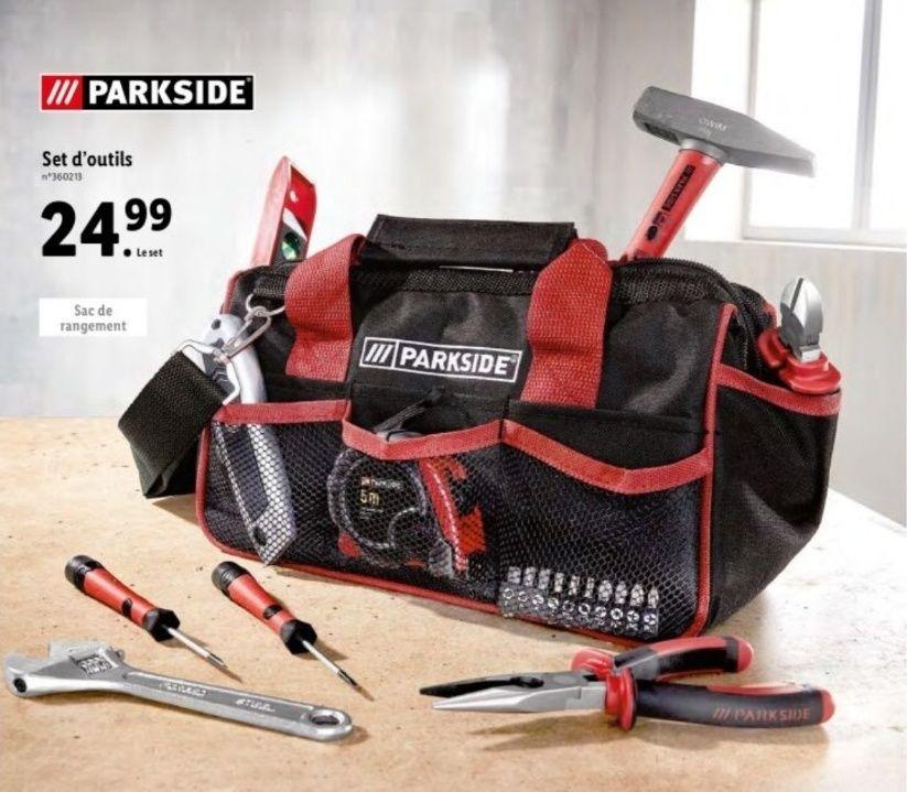 Set d'outils Parkside - 23 pièces