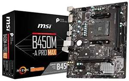 Carte mère MSI B450M-A Pro Max
