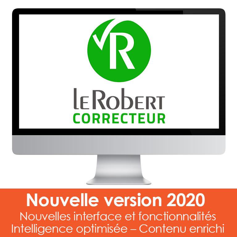 Licence Le Robert Correcteur (2020) - 3 postes sur PC & Mac (Dématérialisé)