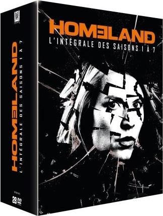 Coffret DVD Homeland - L'Intégrale des saisons 1 à 7, avec bonus (84 épisodes, 28 disques)