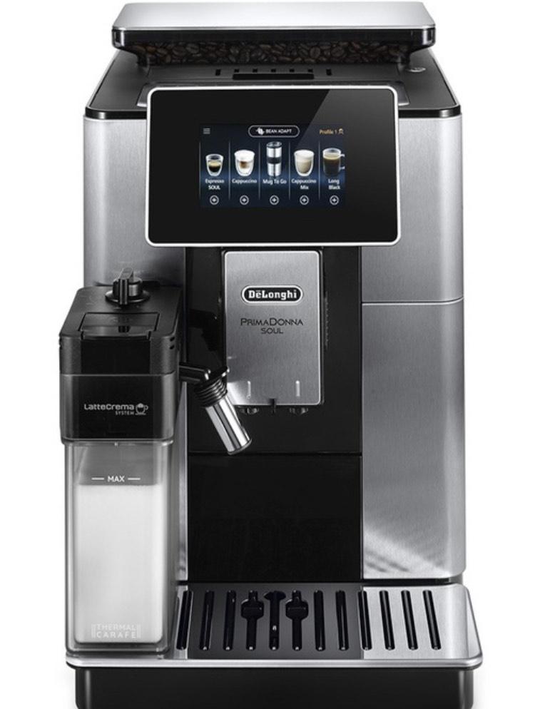 Machine à Expresso avec broyeur Delonghi ECAM 610.74.MB - 1450W
