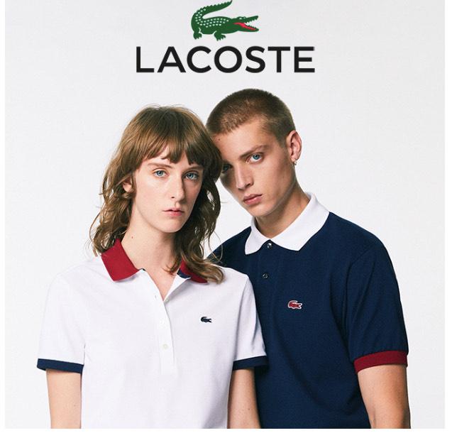 Sélection d'articles Lacoste en promotion