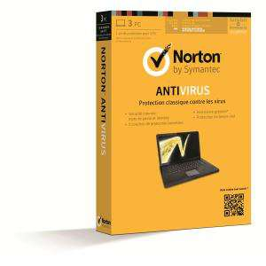 Norton Antivirus 2013 1an - 3 Postes