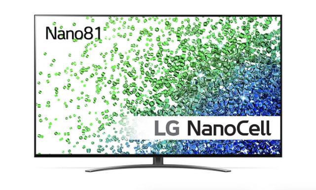 "TV NanoCell 65"" LG 65NANO81 (2021) - UHD 4K, Smart TV, Full LED, HDR10, AirPlay 2"