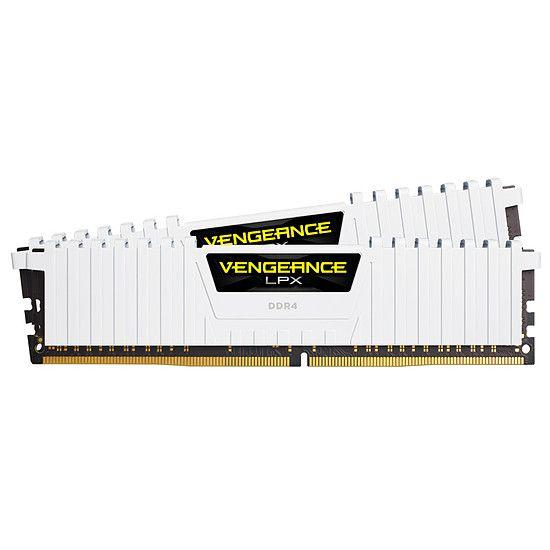 Jusqu'à 30% de remise sur une sélection de mémoires PC Corsair - Ex : Corsair Vengeance LPX White DDR4 2 x 8 Go 3200 MHz CAS 16