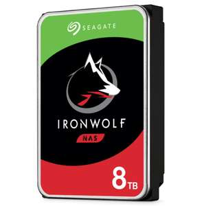 """Disque dur interne 3.5"""" Seagate NAS IronWolf - 8 To, 7200 tr/min, CMR, Cache 256 Mo (ST8000VN004)"""