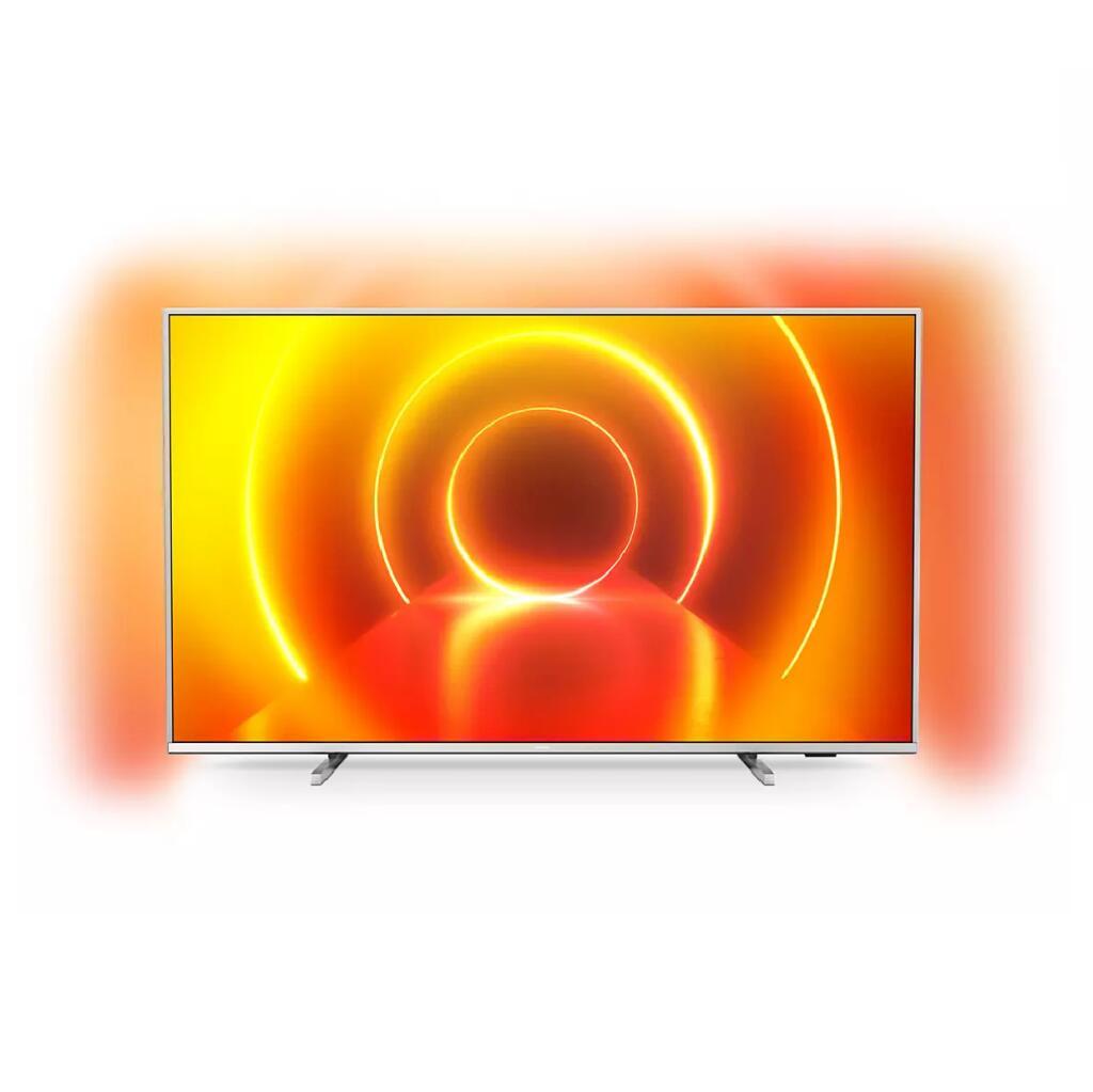 """TV 70"""" Philips 70PUS7855 (2020) - 4K, LED, HDR10+, Dolby Vision & Atmos, Ambilight 3 côtés, Smart TV (Vendeur Ubaldi) + Jusqu'à 181.7€ de RP"""