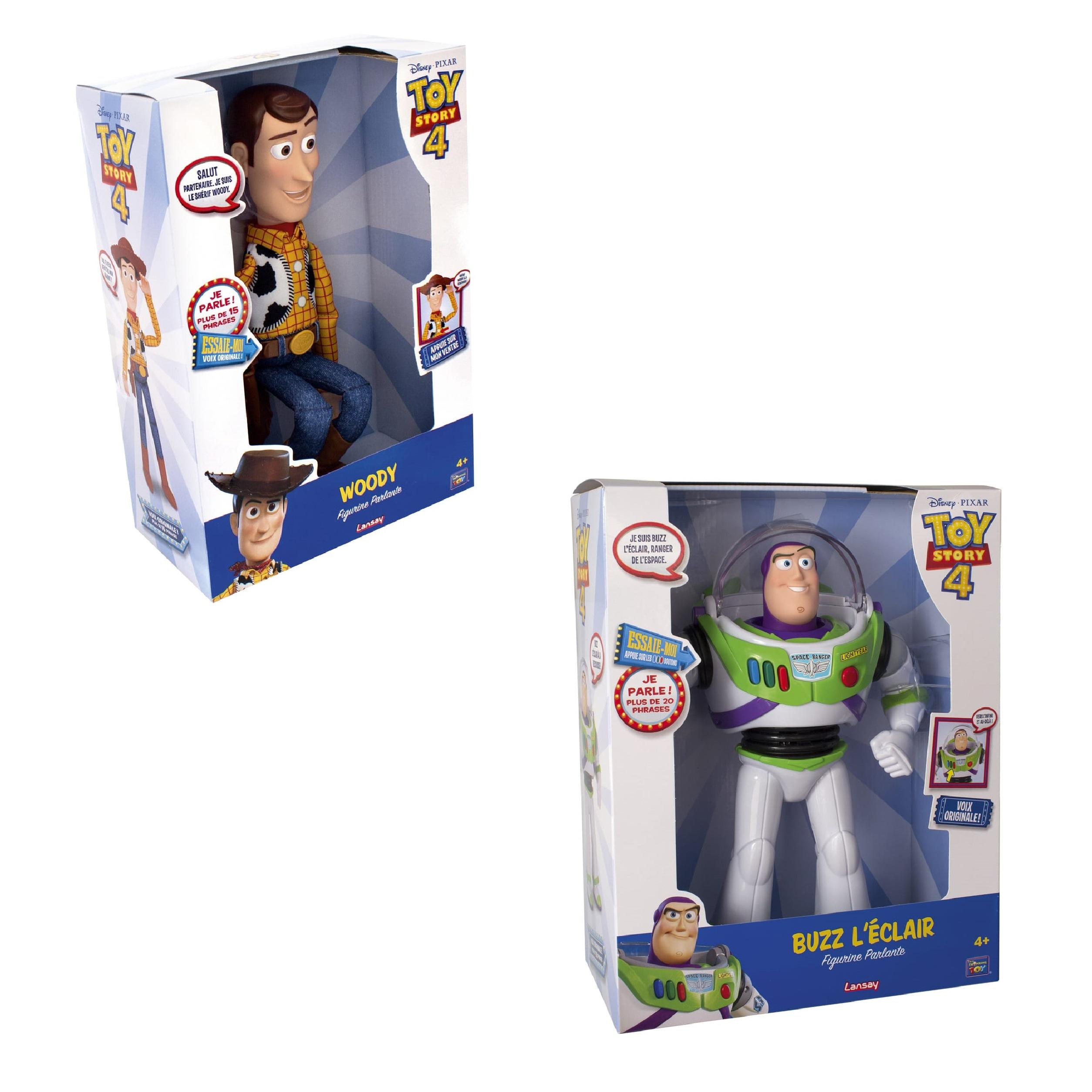 Figurine électronique Lansay Buzz l'éclair ou Woody (via 23,99€ sur la carte)