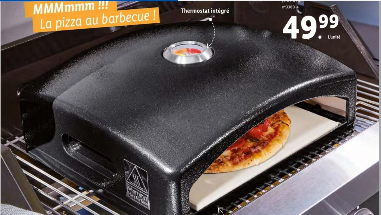 Four à Pizza pour Barbecue - Thermostat intégré
