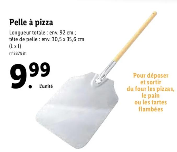 Pelle à pizza - 92cm