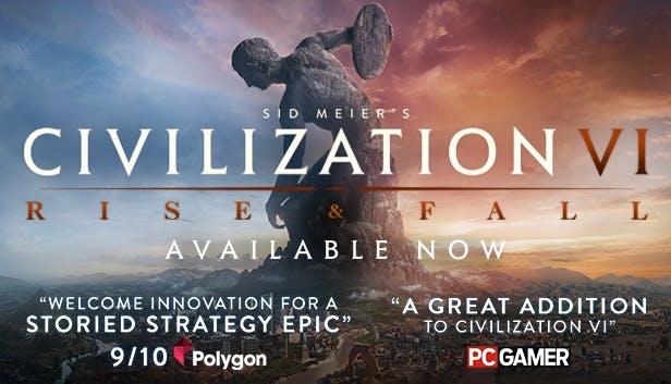 [DLC] Civilization VI: Rise and Fall sur PC (Dématérialisé - Steam)