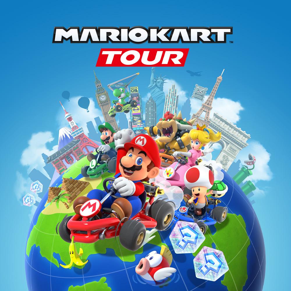 10000 pièces offertes sur Mario Kart Tour via Android & iOS (Dématérialisé)