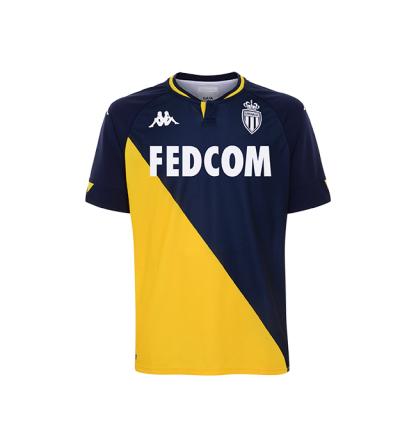 Sélection d'équipements AS Monaco Kappa en promotion - Ex: Maillot extérieur 20-21 (shop.asmonaco.com)