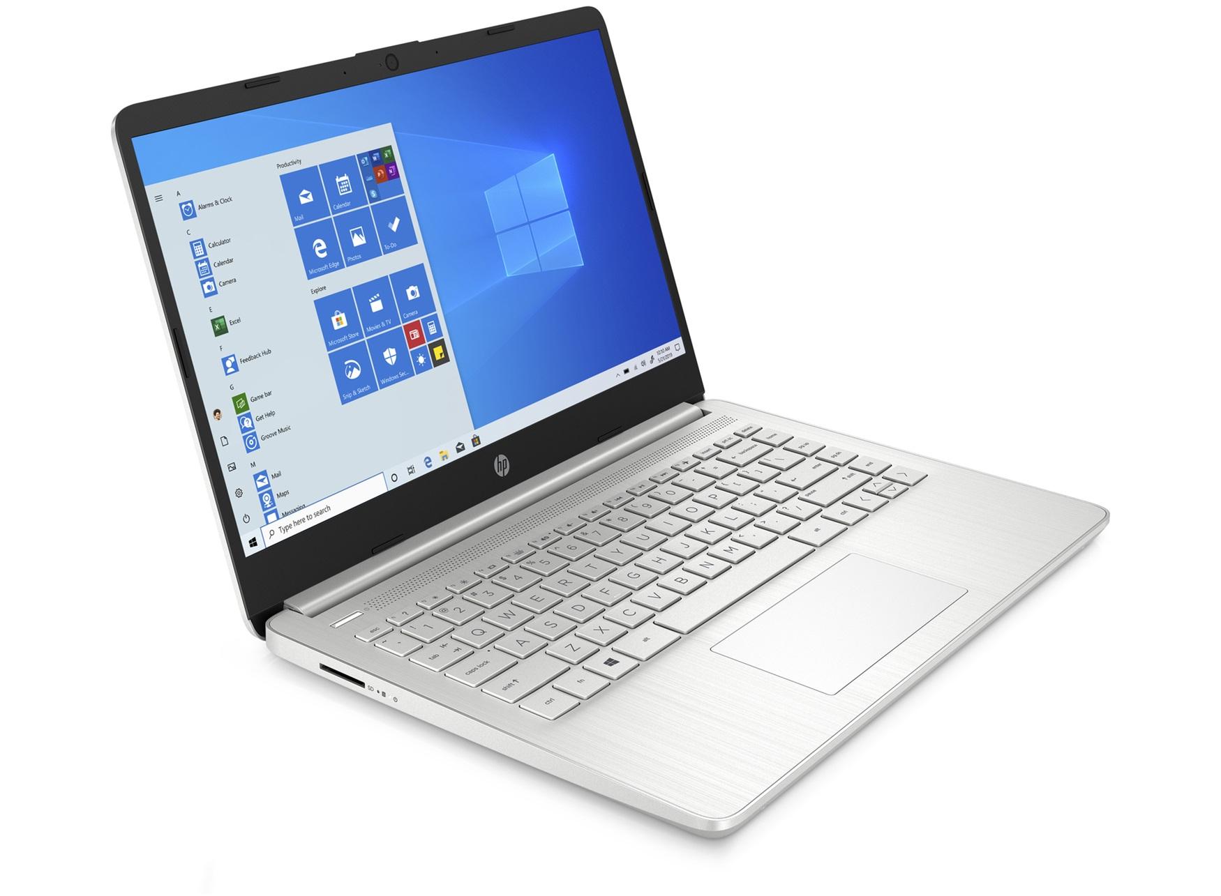 "PC Portable HP 14"" 14s-fq0117nf - Full HD, Ryzen 5 4500U, 8 Go RAM, 512 Go SSD, Windows 10"