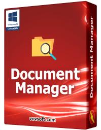 Logiciel Document Manager gratuit sur PC (Dématérialisé)