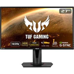 "Écran PC 27"" Asus TUF VG27AQ - LED IPS, QHD, HDR, 155 Hz / 165 Hz OC, 1 ms"